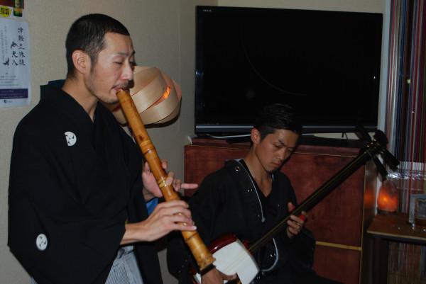 松本宏平さんとピエール小野さんのセッション