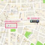 iOS6の地図で見た「高円寺」