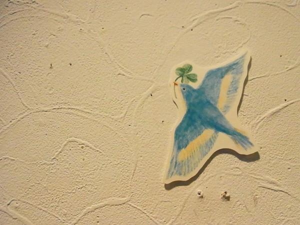 taneumu雑貨展~てづくり作家の作品展でギャラリー内の壁その2