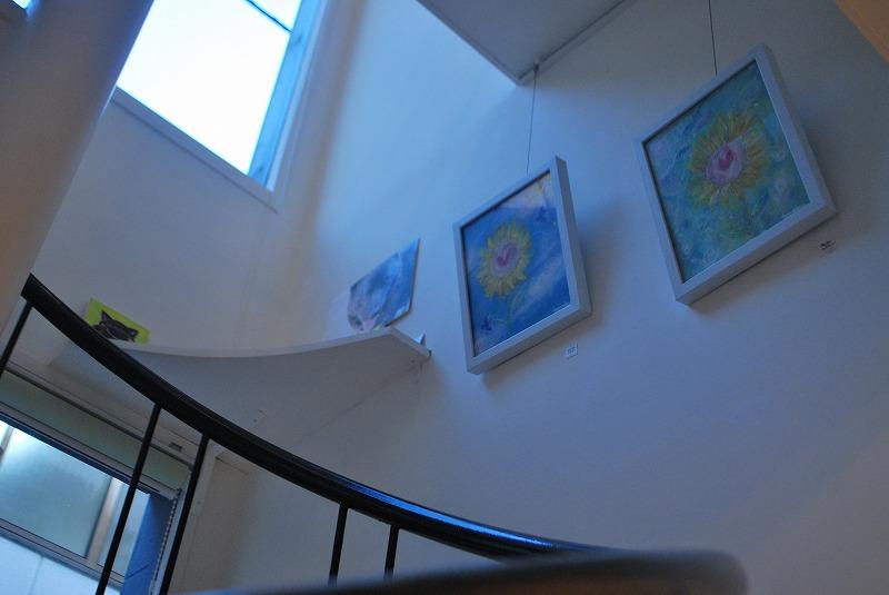 ギャラリー二軒目さんのらせん階段