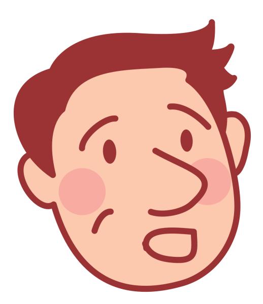 困惑している表情の夫のアイコン_01