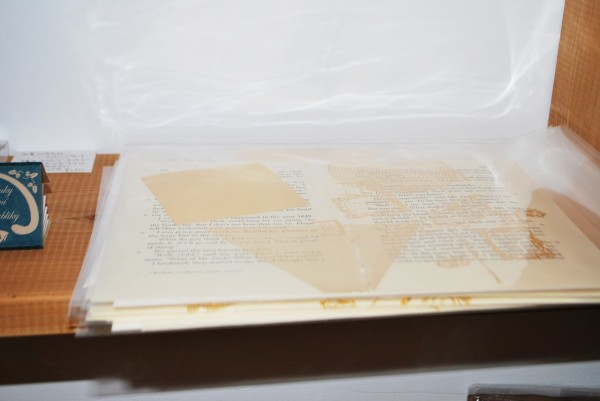 古書リプロダクトメッセージカード