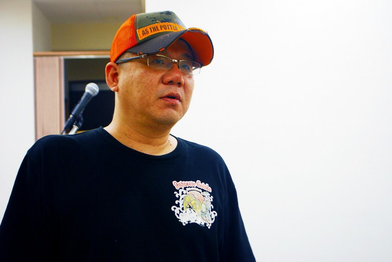 オーナーの構成作家 浅利哲也さん